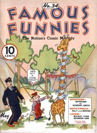 Large Thumbnail For Famous Funnies #34