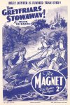 Cover For The Magnet 1643 The Greyfriars Stowaway!