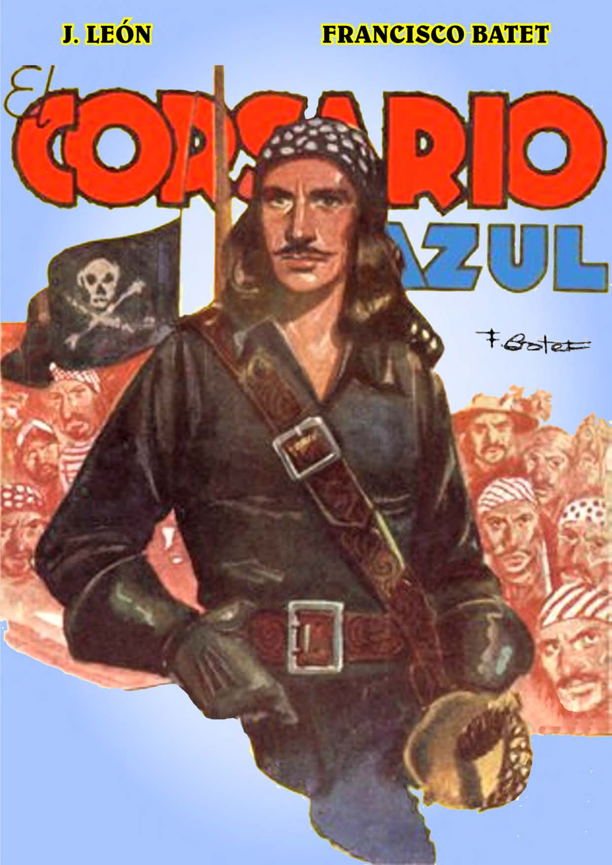 Comic Book Cover For El Corsario Azul