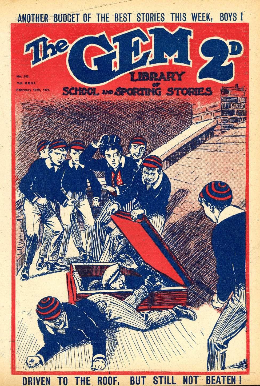 Comic Book Cover For The Gem v2 0783