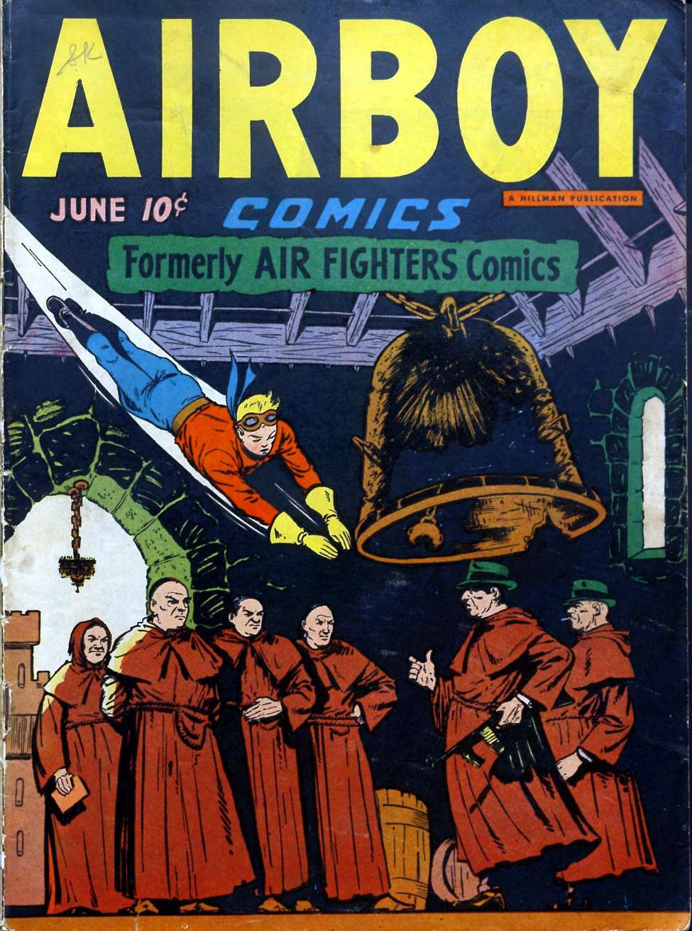 Comic Book Cover For Airboy Comics v3 5 [28]