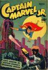 Cover For Captain Marvel Jr. 28