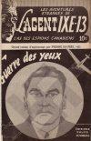 Cover For L'Agent IXE 13 v2 45 La guerre des yeux
