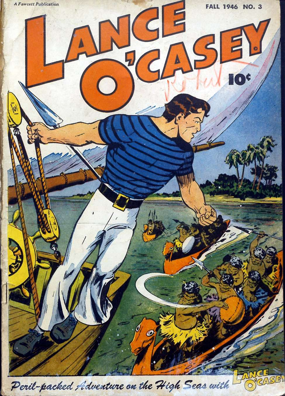 Comic Book Cover For Lance O'Casey #3