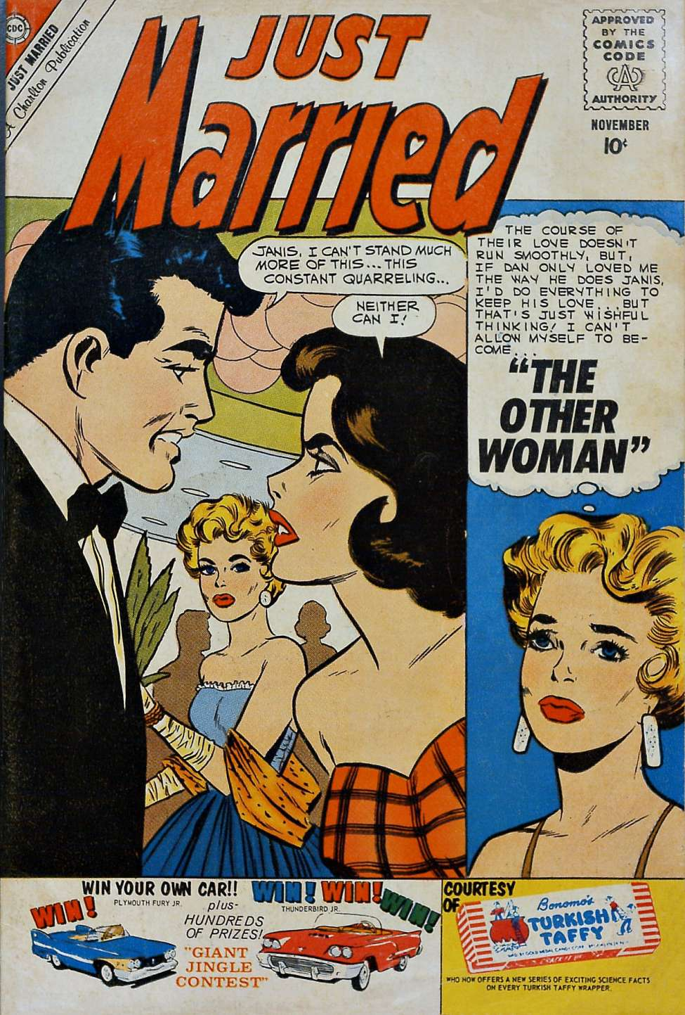 Comic Book Cover For Just Married #16