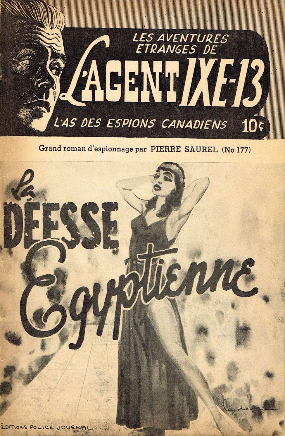 Comic Book Cover For L'Agent IXE-13 v2 177 - La déesse Egyptienne