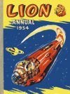 Cover For Lion Annual 1954
