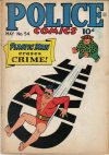 Cover For Police Comics 54