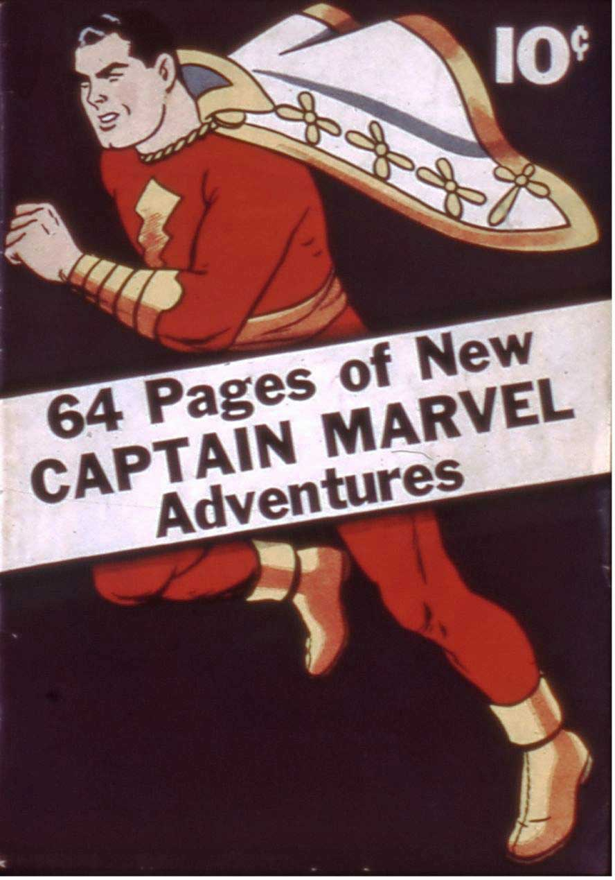 Comic Book Cover For Captain Marvel Adventures [1] - Version 2
