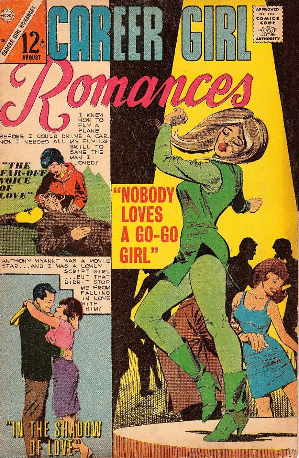 Comic Book Cover For Career Girl Romances #35