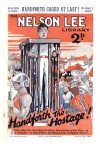 Cover For Nelson Lee Library s2 16 - Handforth the Hostage
