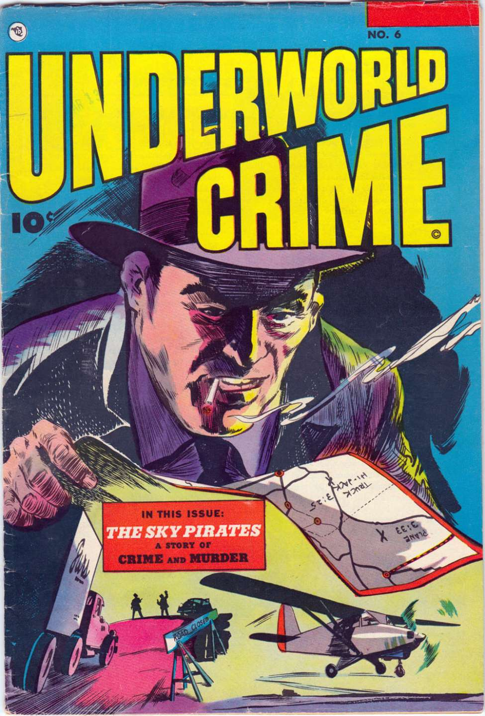 Comic Book Cover For Underworld Crime #6