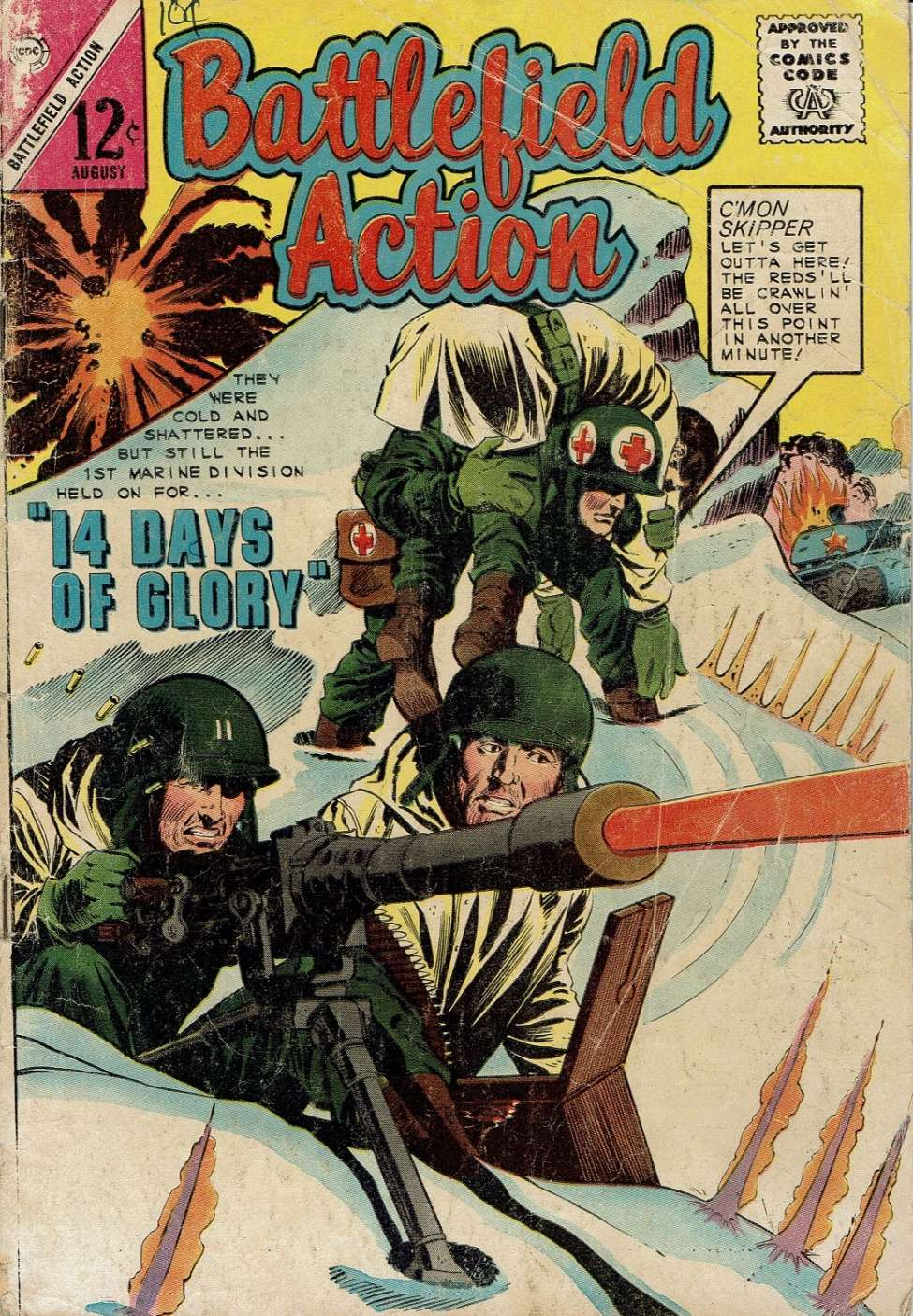Comic Book Cover For Battlefield Action #54