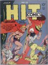 Cover For Hit Comics 13
