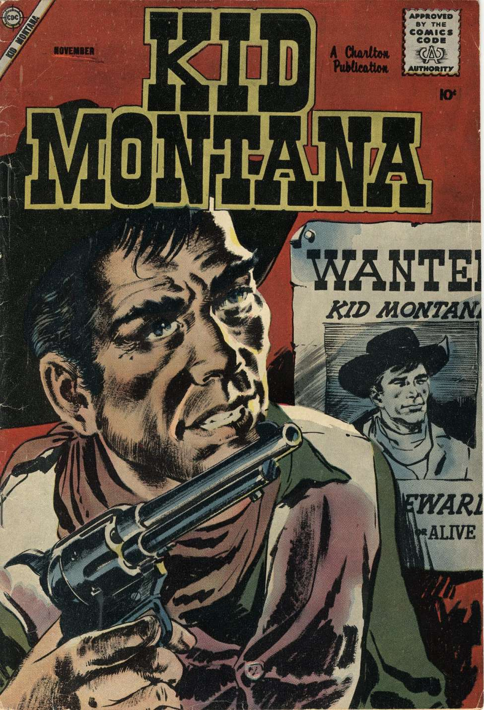 Comic Book Cover For Kid Montana #15