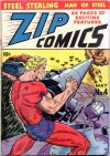 Cover For Zip Comics 4