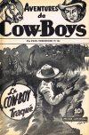 Cover For Aventures de Cow Boys 7 Le cow boy traqué