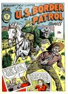 Cover For Holyoke One Shot 5 U.S. Border Patrol Comics 5