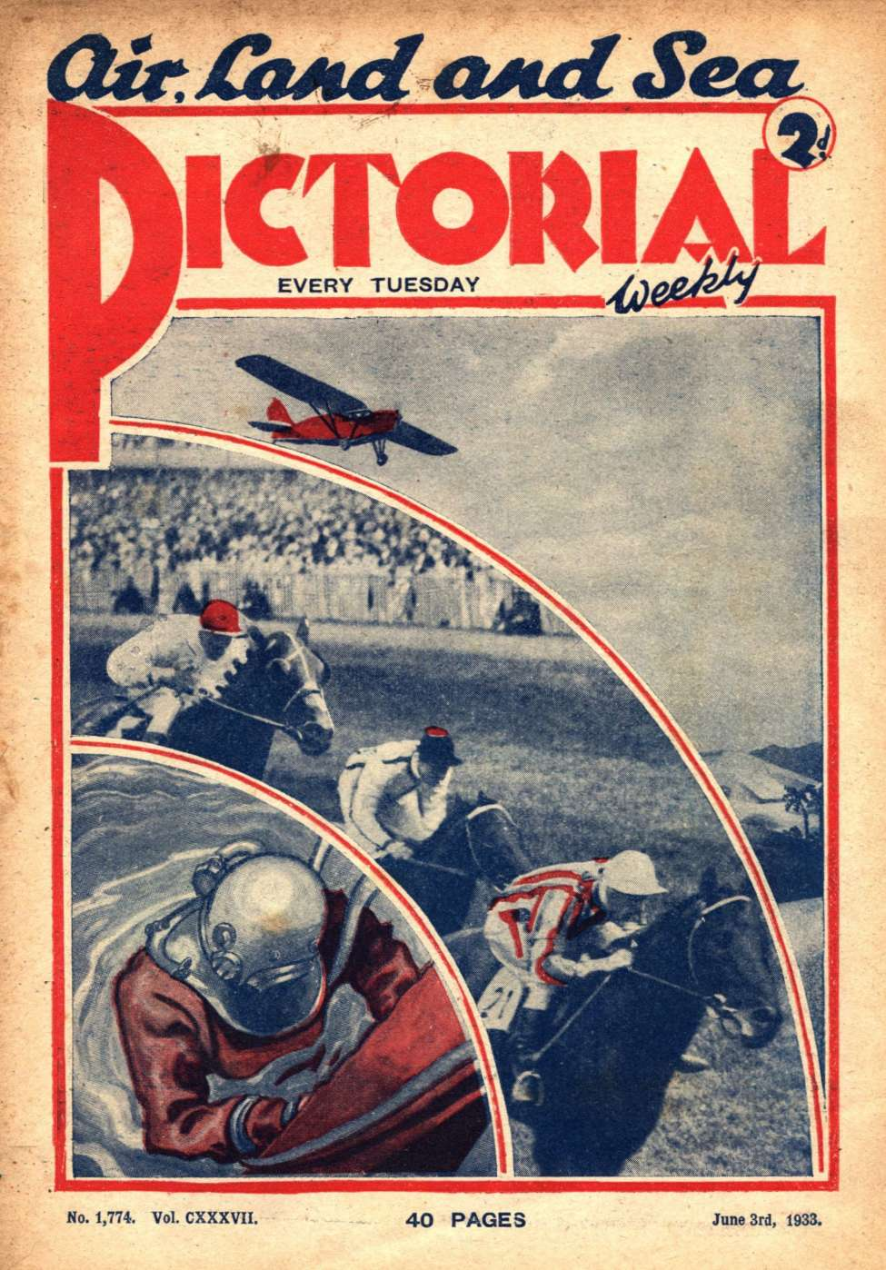 Comic Book Cover For Pictorial Weekly 1774