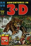 Cover For Adventures in 3 D 1