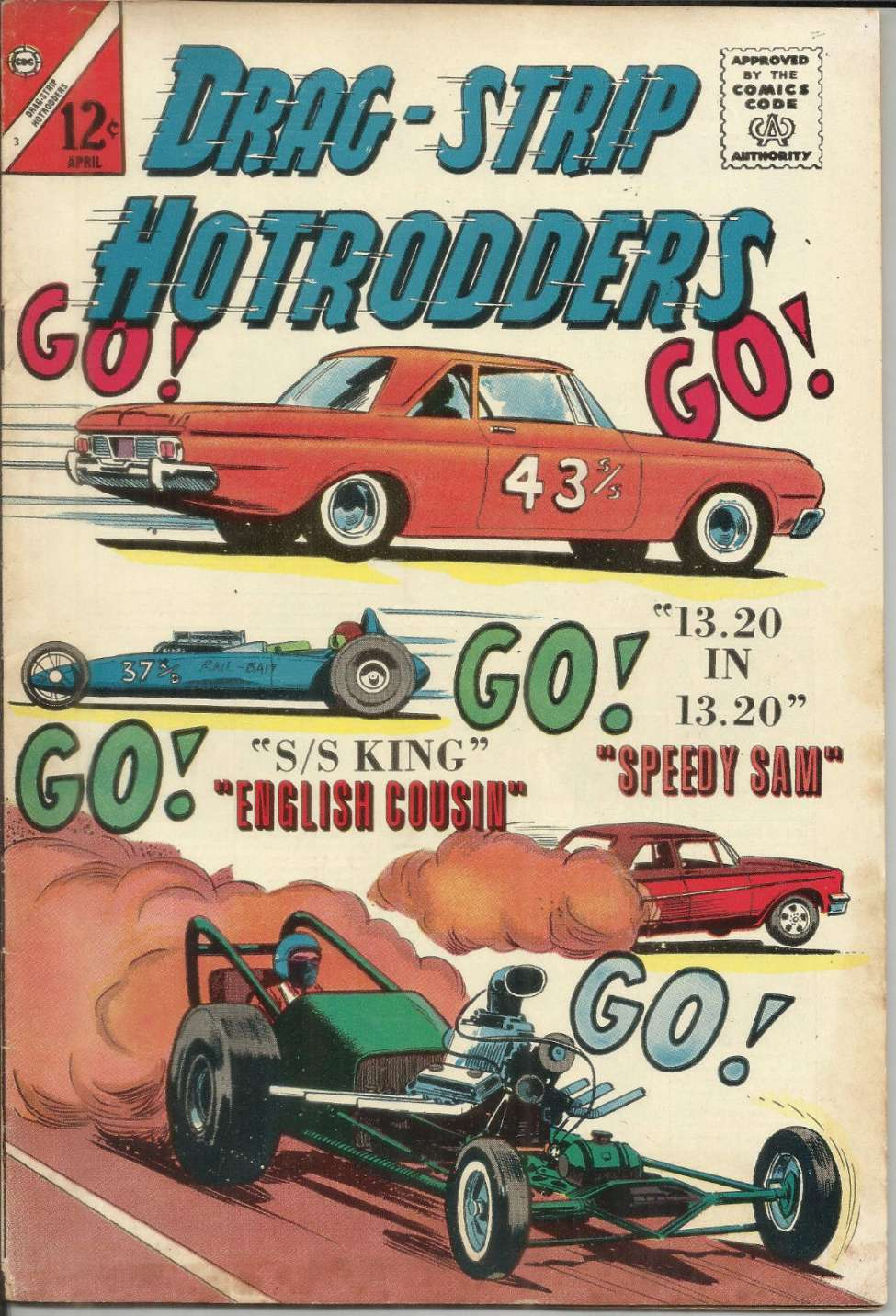 Drag-Strip Hotrodders #3 (Charlton) - Comic Book Plus