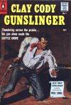 Cover For Clay Cody Gunslinger 1