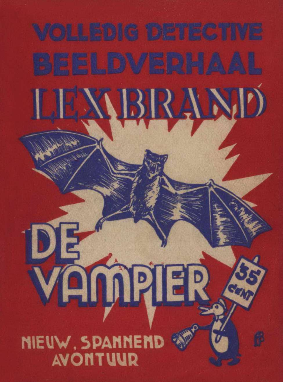 Comic Book Cover For Lex Brand 18 - De Vampier