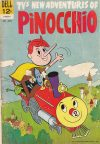 Cover For New Adventures of Pinocchio 3