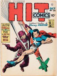Large Thumbnail For Hit Comics #24