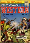 Cover For Prize Comics Western 112