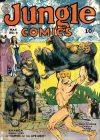 Cover For Jungle Comics 5
