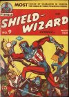 Cover For Shield Wizard Comics 9