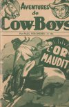 Cover For Aventures de Cow Boys 1 L'or maudit