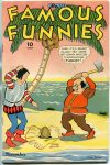 Cover For Famous Funnies 124