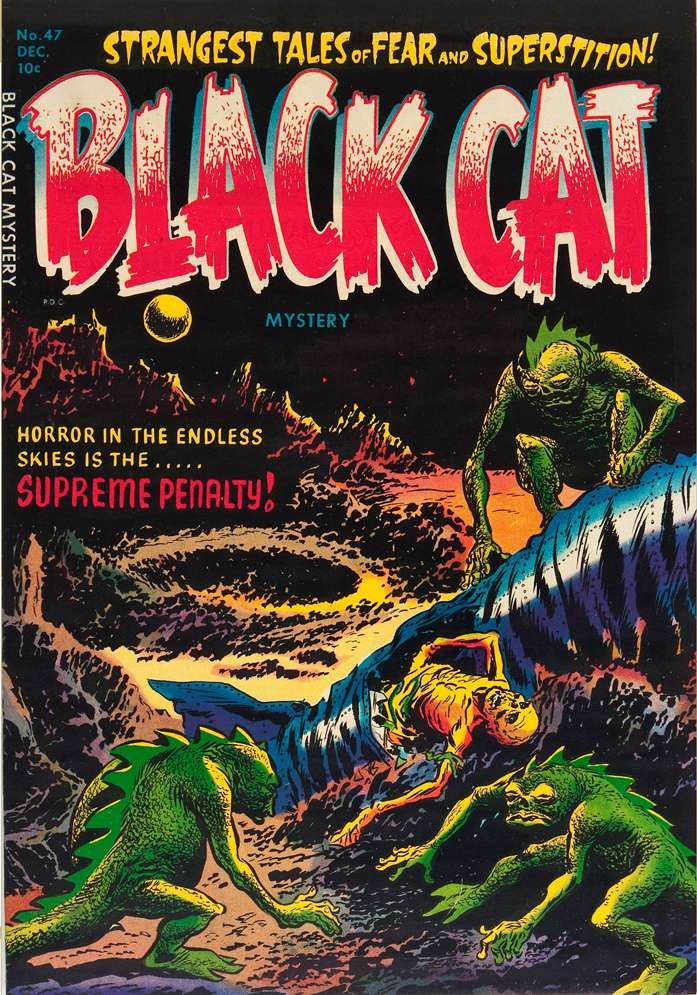 Comic Book Cover For Black Cat #47