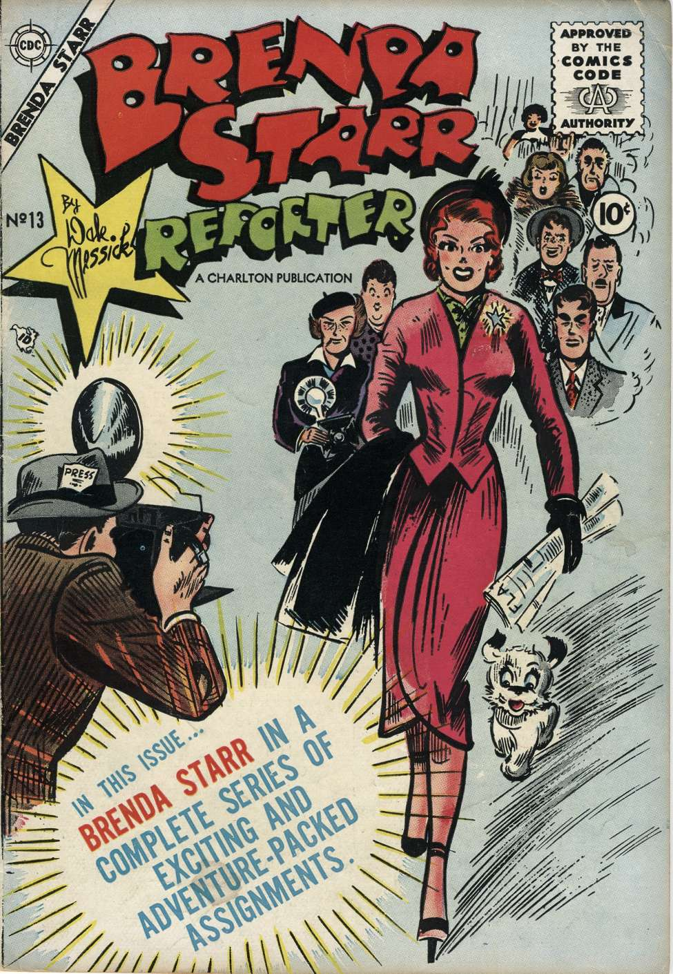Comic Book Cover For Brenda Starr #13