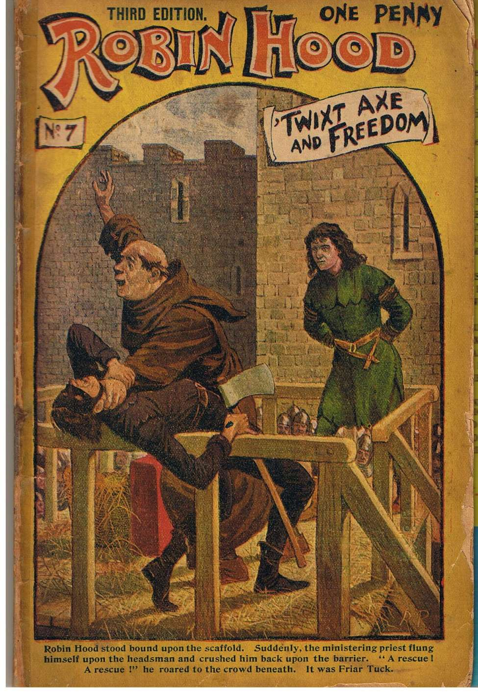 Comic Book Cover For Robin Hood 007