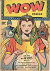 Cover For Wow Comics 58