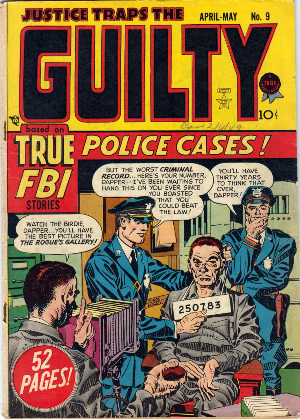 Comic Book Cover For Justice Traps the Guilty v2 3 (9)