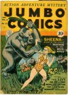 Cover For Jumbo Comics 35