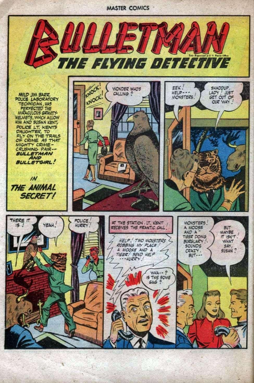 Comic Book Cover For Bulletman Archive Vol 13