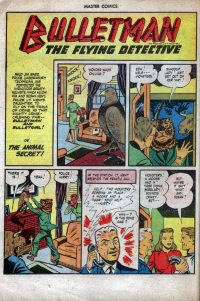 Large Thumbnail For Bulletman Archive Vol 13