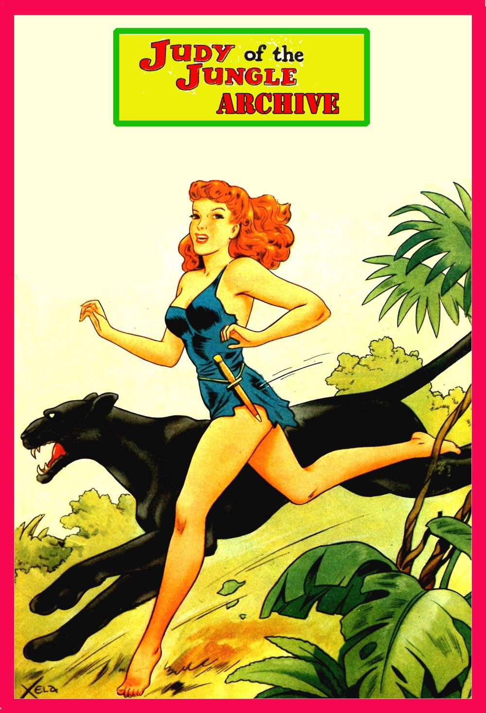Comic Book Cover For Judy Of The Jungle Archive Better Pub upgrade