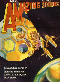 Large Thumbnail For Amazing Stories v05 02 - The Universe Wreckers - Edmond Hamilton