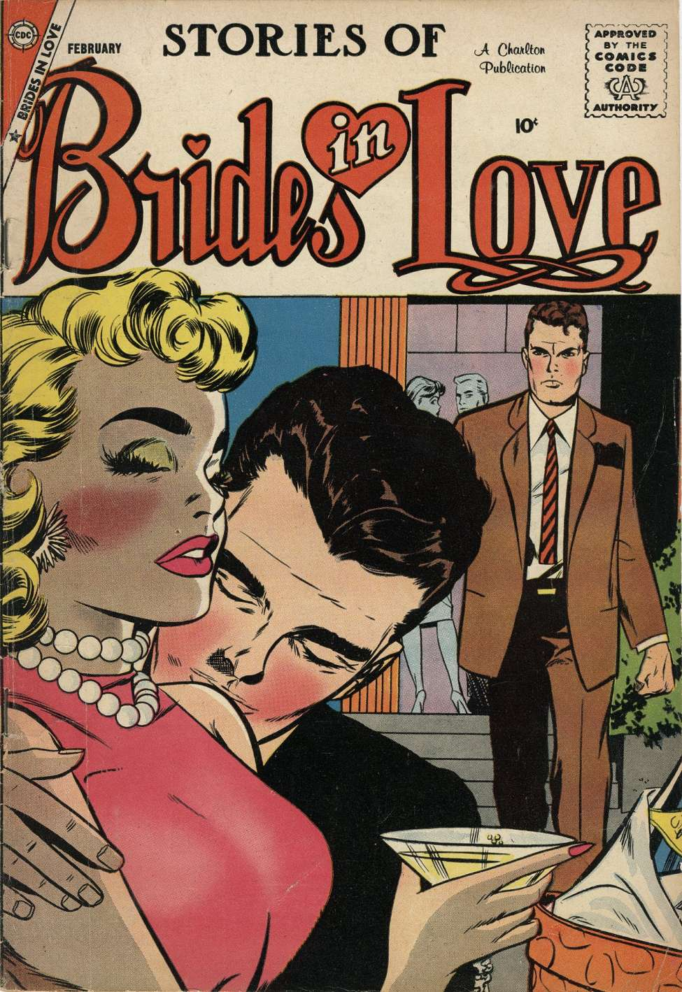 Comic Book Cover For Brides in Love #11