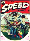 Cover For Speed Comics 27