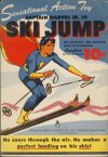 Cover For Captain Marvel, Jr. In Ski Jump