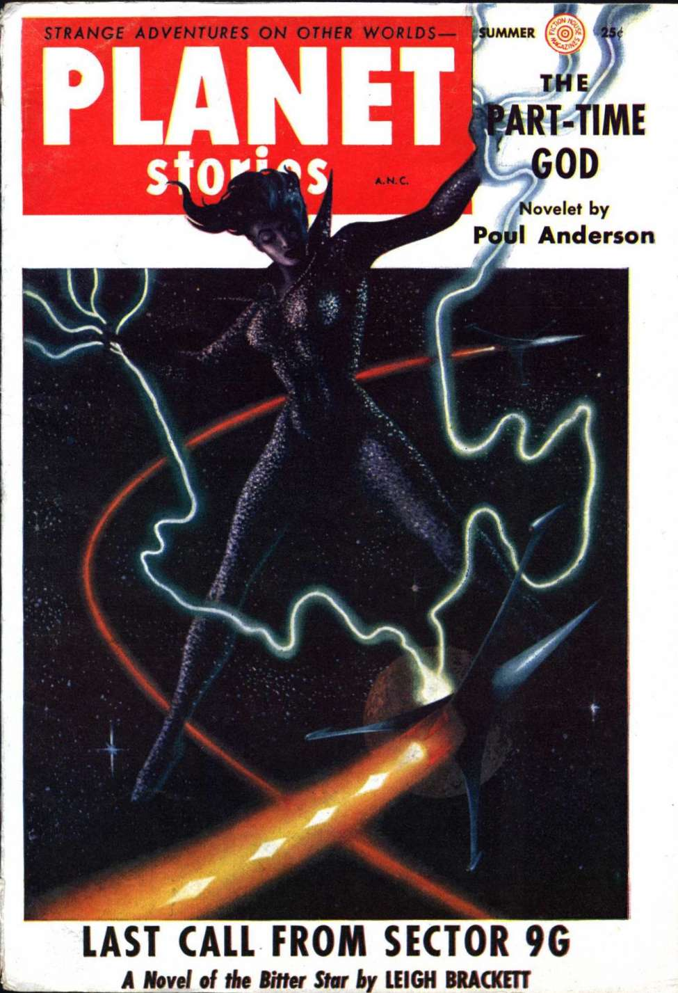 Comic Book Cover For Planet Stories v06 11 - Last Call from Sector 9G - Leigh Brackett