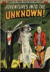 Cover For Adventures into the Unknown 27