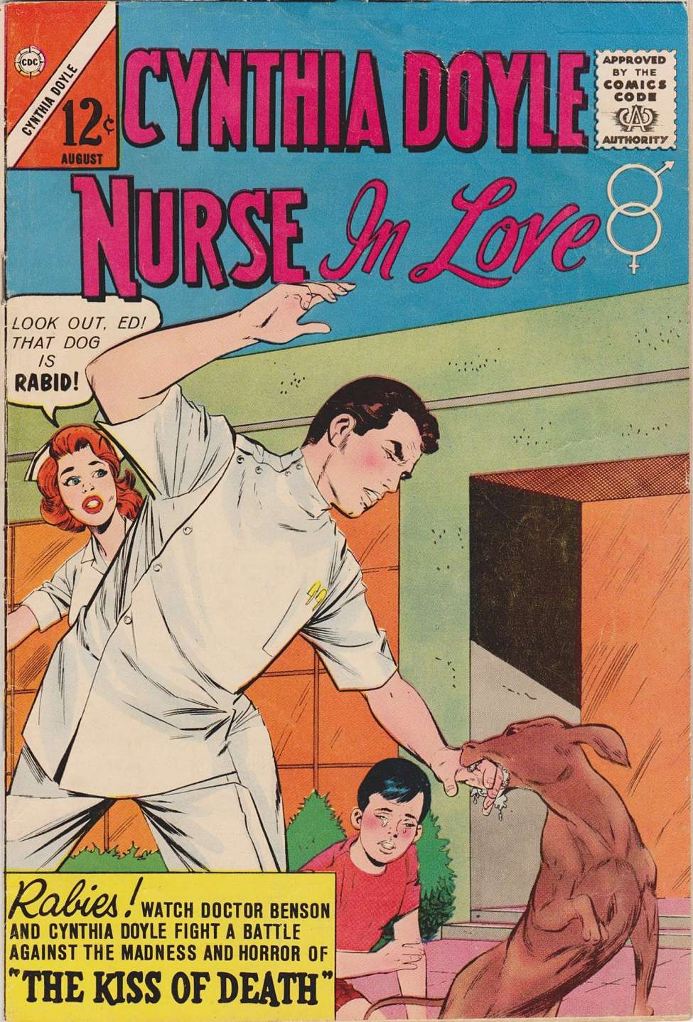 Comic Book Cover For Cynthia Doyle, Nurse In Love 71